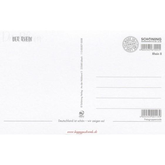 Der Rhein - HotSpot-Card