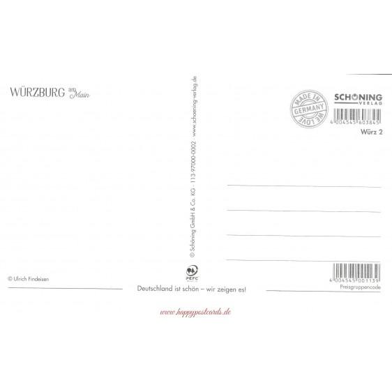 Würzburg - Alte Mainbrücke - HotSpot-Card