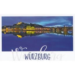 Würzburg at Night - HotSpot-Card