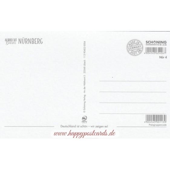 Nürnberg - Albrecht Dürer - HotSpot-Card