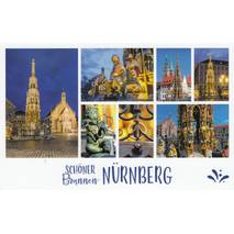 Nürnberg - Schöner Brunnen - HotSpot-Card