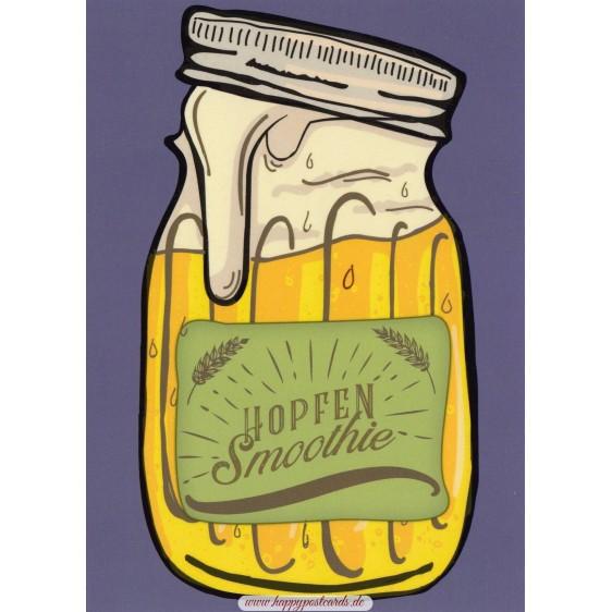 Hopfen Smoothie - Moment mal - Postkarte