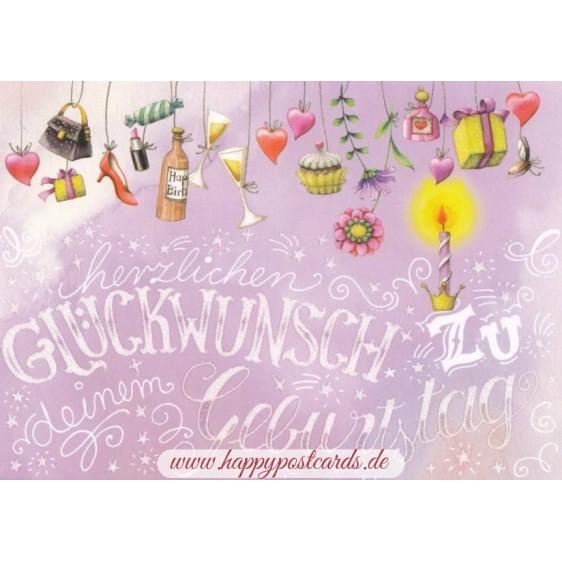 Geburtstag - Presents - Nina Chen Postcard