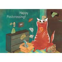 Happy Postcrossing - Waiting for Postcards - Postcard