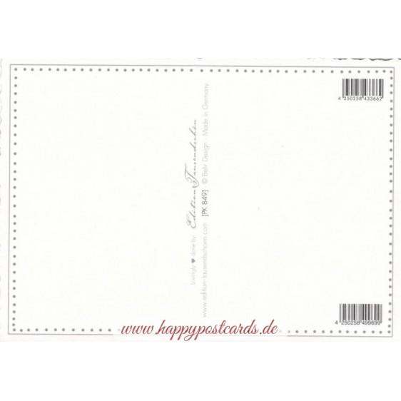 Weimar - Goethe's Gardenhouse - Tausendschön - Postcard