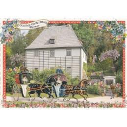 Weimar - Goethes Gartenhaus - Tausendschön - Postkarte