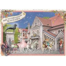 Braunschweig - Burg Dankwarderode - Tausendschön - Postkarte