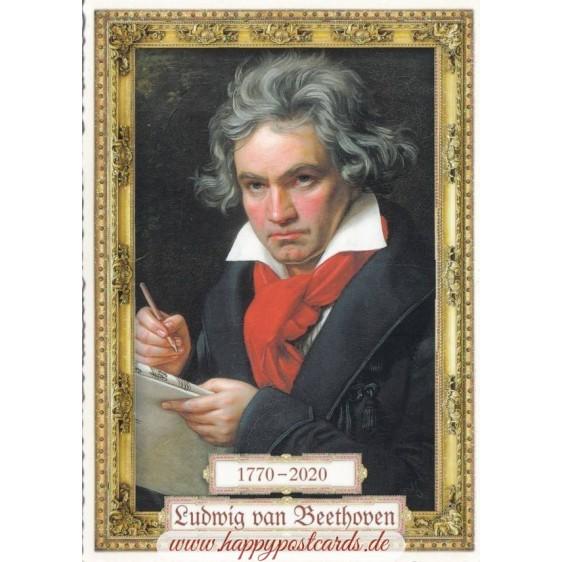 250 Years Ludwig van Beethoven - Tausendschön - Postcard