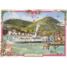 Wien - Donaudampfschifffahrt - Tausendschön - Postkarte