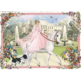 Prinzessin - Tausendschön - Postkarte
