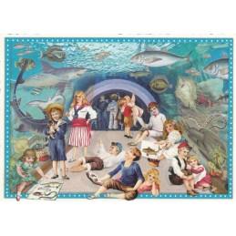 Aquarium - Tausendschön - Postkarte