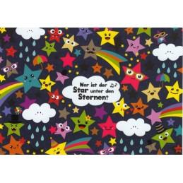 Wer ist der Star unter den Sternen? - Lali Postcard