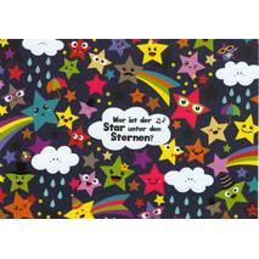 Wer ist der Star unter den Sternen? - Lali Postkarte