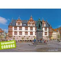 Coburg - Market Square - Viewcard