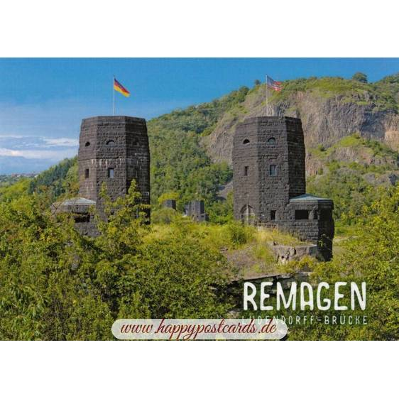 Remagen - Ludendorff-Bridge - Viewcard