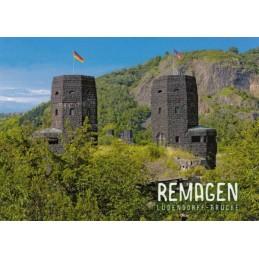 Remagen - Ludendorff-Brücke - Ansichtskarte