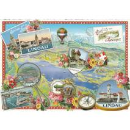 Bodensee - Lindau - Tausendschön - Postkarte