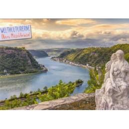 Oberes Mittelrheintal - Loreley - Ansichtskarte