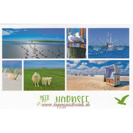 Meer erleben - North Sea - HotSpot-Card