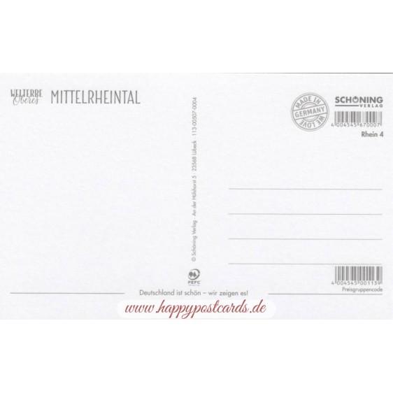 Welterbe Oberes Mittelrheintal - HotSpot-Card