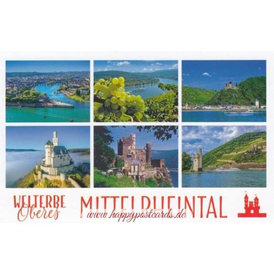 UNESCO Oberes Mittelrheintal - HotSpot-Card