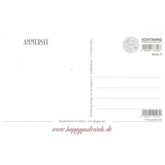 Ammersee - HotSpot-Card