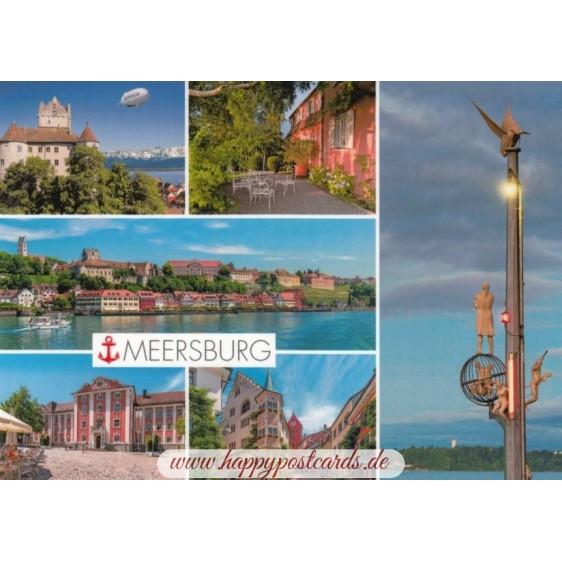 Meersburg - Multi - Viewcard