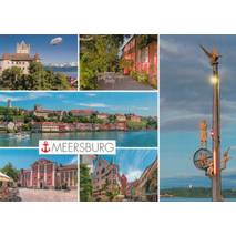 Meersburg - Multi - Viewcard