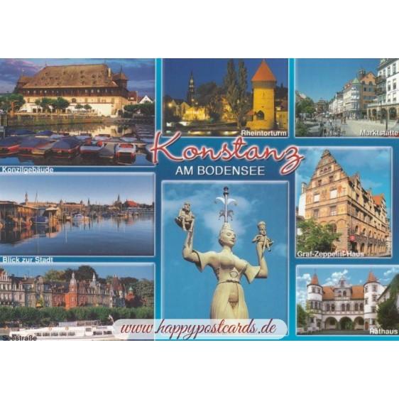 Konstanz - Multi - Viewcard