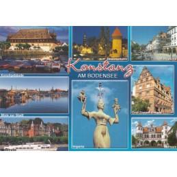 Konstanz - Multi - Ansichtskarte