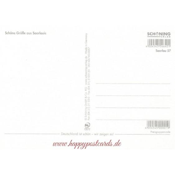Saarlouis - Multi - Viewcard