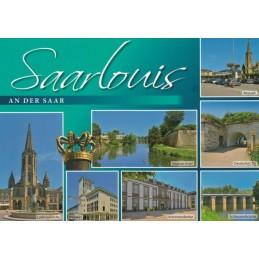 Saarlouis - Multi - Ansichtskarte