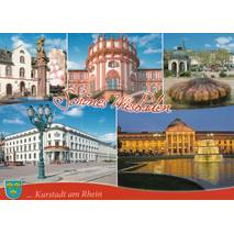 Beautiful Wiesbaden - Postcard