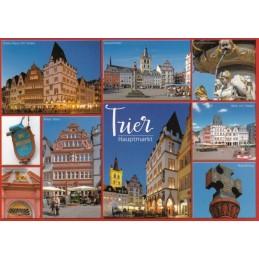 Trier - Hauptmarkt - Viewcard