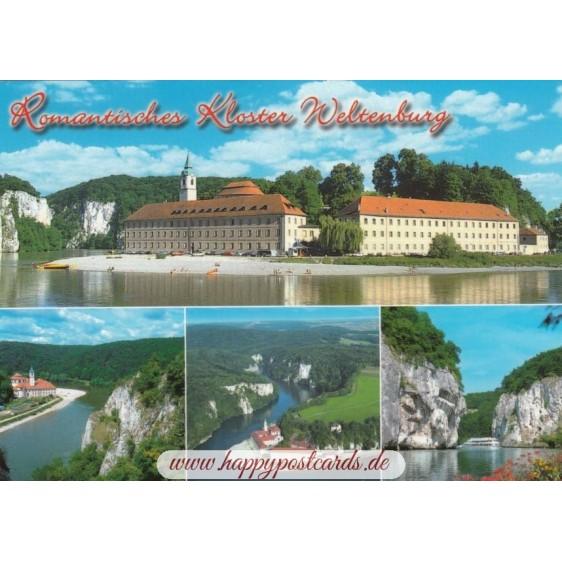 Convent Weltenburg - Viewcard