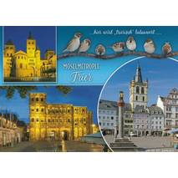 Trier - Spatzen - Ansichtskarte