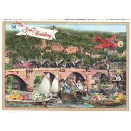 Heidelberg - Tausendschön - Postcard