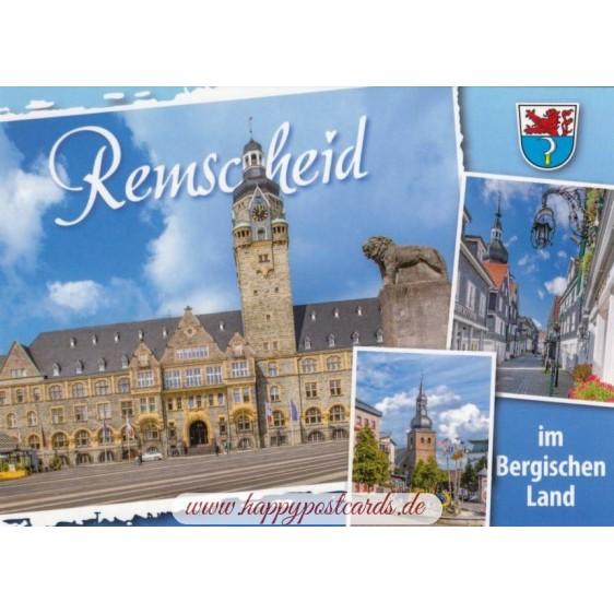 Remscheid - Rathaus - Ansichtskarte