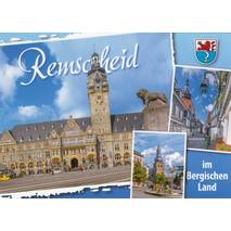 Remscheid - Townhall - Viewcard