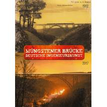 Solingen - Müngstener Bridge - German Ingeneering- Viewcard