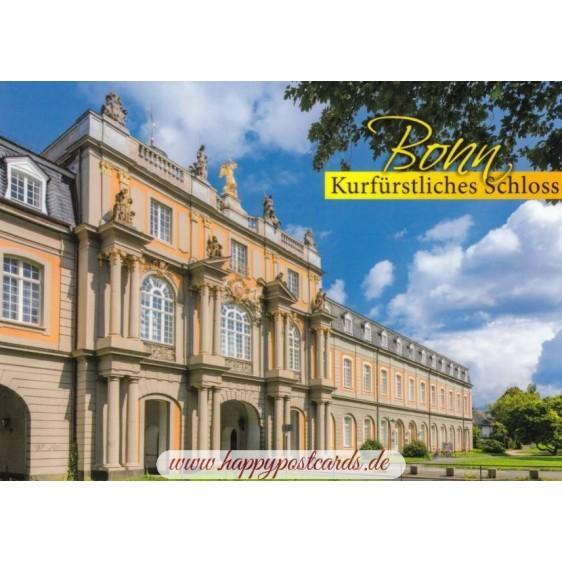Bonn - Kurfuerstliches Schloss - Viewcard