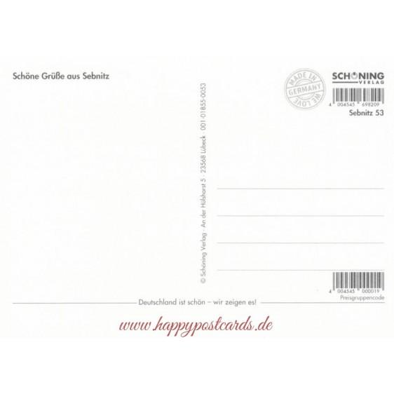 Sebnitz - Sparrows - Viewcard