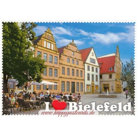 Bielefeld - Stampborder - Viewcard
