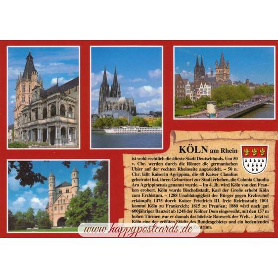 Cologne - Chronicle - Viewcard