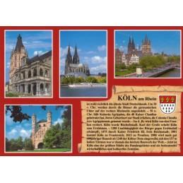 Köln - Chronikkarte