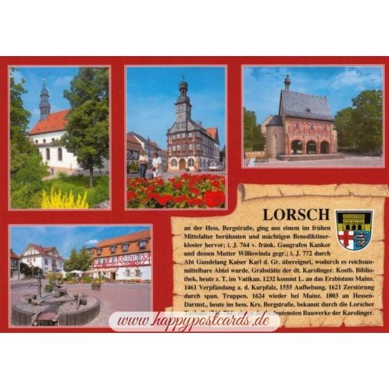 Lorsch - Chronik - Ansichtskarte