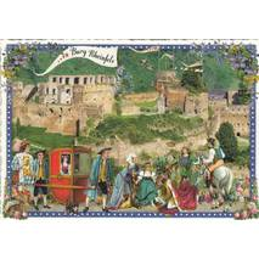 Burg Rheinfels - Tausendschön - Postcard