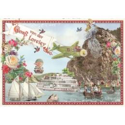 Loreley - Tausendschön - Postkarte
