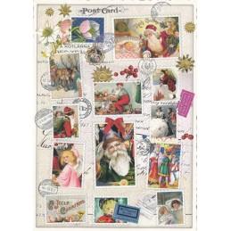 Weihnachtsmarken - Tausendschön - Weihnachtskarte