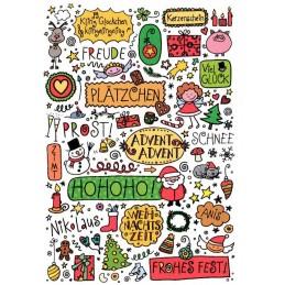Frohes Fest! - Weihnachtskarte